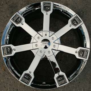 DVINCI GUSTO 18 CHROME RIMS WHEELS RANGE ROVER LM