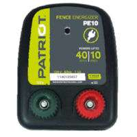 NEW Patriot PE10 AC Powered Electric Fence Charger Energizer 10 miles