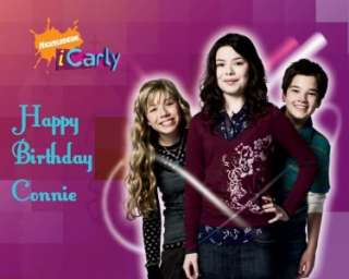 iCarly Edible Cake Image Topper   1/4 Sheet