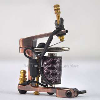 One premium Handmade tattoo machines Gun 10 wrap coil.