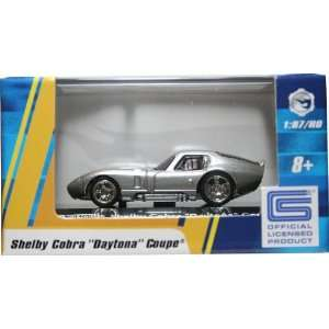 187 / HO SCALE SHELBY COBRA DAYTONA COUPE (SILVER) Hot