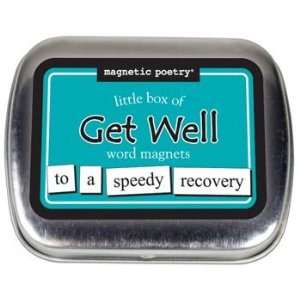 Magnetic Poetry   Little Box Of Get Well Word Magnets Toys & Games
