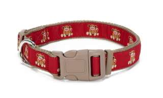 Douglas Paquette Nylon Dog Collars, Leads SOCK MONKEY Design
