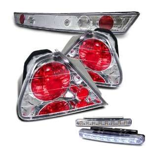 Eautolight 98 02 Honda Accord 2 Door Tail Lights + LED