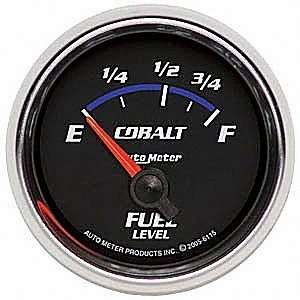 Auto Meter 6115 Cobalt 2 1/16 73 10 ohms Short Sweep Electric Fuel