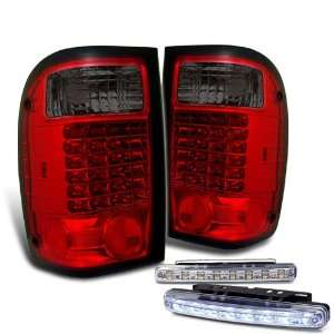 Eautolight 01 05 Ford Ranger LED Tail Lights + LED Bumper