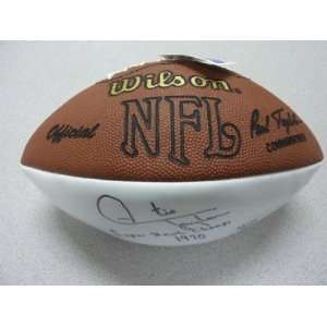 Otis Taylor Signed Football PSA COA Auto NFL Chiefs