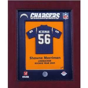 Shawne Merriman   San Diego Chargers NFL Limited Edition Original Mini
