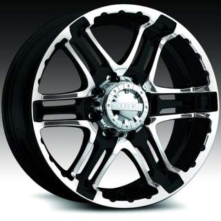 Gear Alloy 713 Double Pump Black Machine 18x9