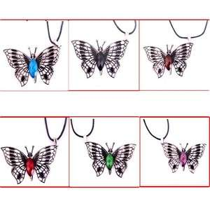 Fashion Beautiful Charms Womens Butterfly Shape Pendant Necklace