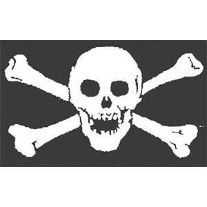 Pirate Skull (Jolly Roger without patch) 3 ft. x 5 ft