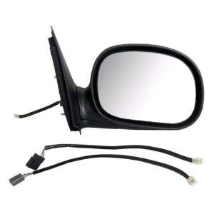 New Passenger Power Side View Mirror Glass Housing Assembly w/Adapter