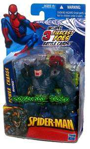 MARVEL SPIDER MAN SERIES POWER CHARGE RHINO HASBRO