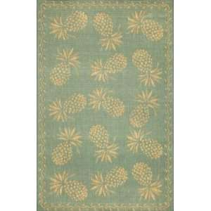 Trans Ocean   Thatcher   Pineapple Area Rug   710 Square
