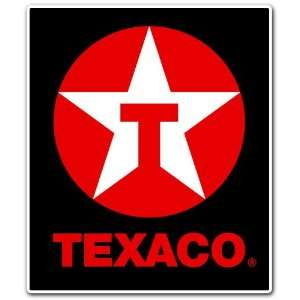 Texaco Gasoline Filling Station Racing Car Bumper Sticker Decal 4.5x4