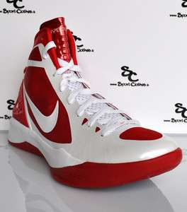 Nike Zoom Hyperdunk 2011 white red mens basketball shoes