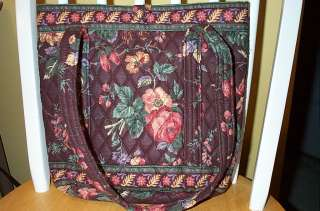 Vera Bradley Retired Rare Vintage Wildwood Tote Bag
