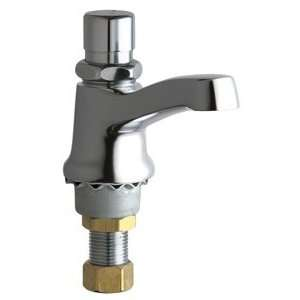Faucets 333 SLOLESSE12PSHCP Single Faucet Metering