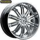 24 x9.5 TIS Luxury Wheels 532C Chrome 5 6 Lugs Rims FREE LUGS