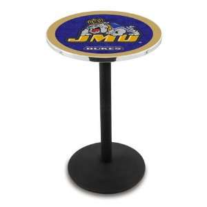 42 James Madison Bar Height Pub Table   Round Base