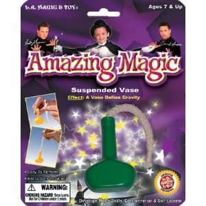 Amazing Magic SUSPENDED VASE MAGIC TRICK Easy to Perform
