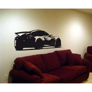 Wall MURAL Vinyl Sticker Car LOTUS EXIGE GT SPORT 001