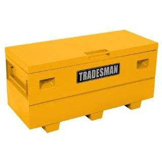 Tradesman TST4827YW 48 Yellow Steel Job Site Tool Box Automotive
