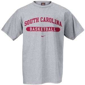 Nike South Carolina Gamecocks Ash Basketball T shirt