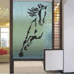 Large  Easy instant decoration wall sticker decor  horse