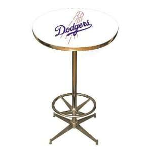 Los Angeles/LA Dodgers 40in Pub Table Home/Bar Game Room