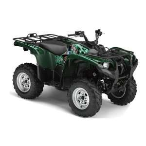 AMR Racing Yamaha Grizzly 700 ATV Quad Graphic Kit   Madhatter Green