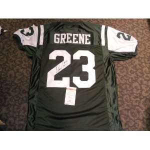 Shonn Greene New York Jets signed autographed jersey COA