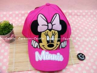 Minnie Mouse Girl Hat Baseball Cap Visor Pink 20155