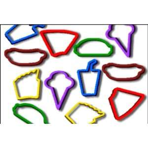 Rubba Bandz   Fast Food Fun Shapes Rubber Band Bracelet