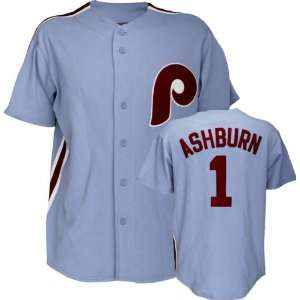 Richie Ashburn Majestic Cooperstown Throwback Philadelphia Phillies