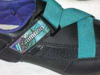 Shimano SH R070 Road Cycling Shoes w Look Delta Cleats Sz 43 USA 9