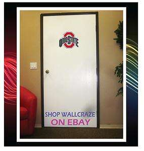 Ohio State Buckeyes Removable Door Wall Decor Sticker Decal Poster 10
