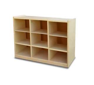 Cubbyhole Childrens Kids Wooden Toy Storage Cabinet