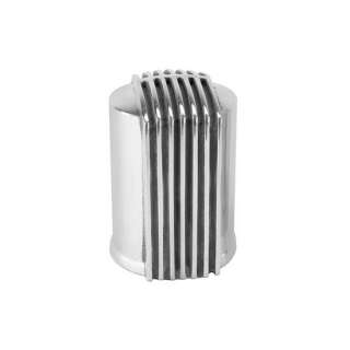 Offenhauser Polished Aluminum Finned Oil Filter Cover