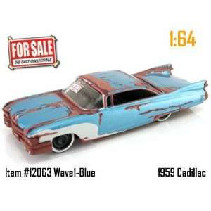 Jada Dub City For Sale Blue 1959 Cadillac 164 Scale Die