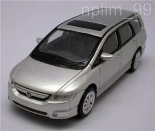 RASTAR 1/43 Diecast Model Car HONDA ODYSSEY SILVER NEW