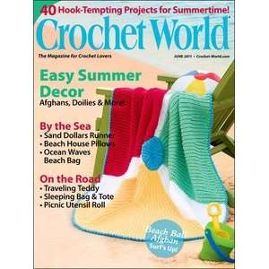 Crochet World Magazine June 2011 (Easy Summer Decor) various