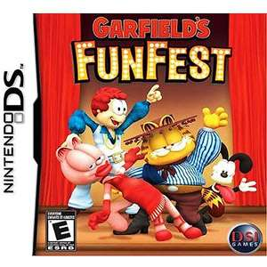Garfield Fun Fest (DS) Games