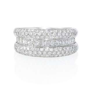 LEO PIZZO 18K WHITE GOLD DIAMOND RING