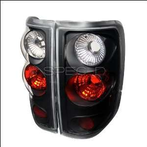 04 08 FORD F150 BLACK ALTEZZA TAIL LIGHTS BRAKE LAMPS