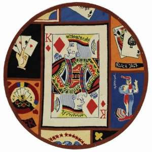 Safavieh Chelsea Collection HK208A Hand Hooked Poker