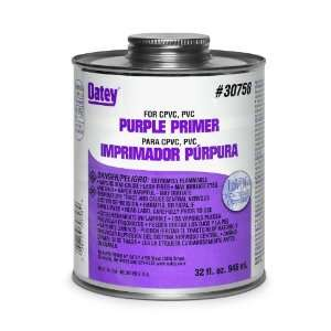 Oatey 30759 NSF Listed Primer, Purple, Gallon