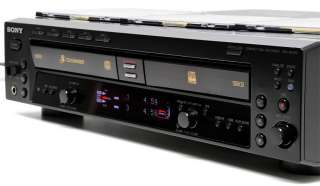 RCD W500C Audio CD Recorder & 5 Disc Changer Player, Dual Deck Combo
