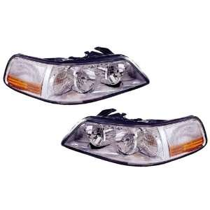 Lincoln Town Car Replacement Headlight Assembly (non HID