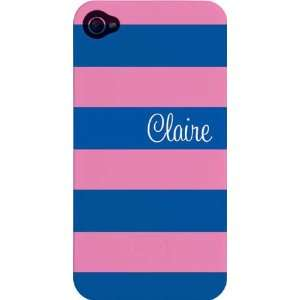 Kelly Hughes Designs   Phone Cases (Pink & Blue Stripe